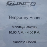 Store hours - Temporary COVID-19 Store hours
